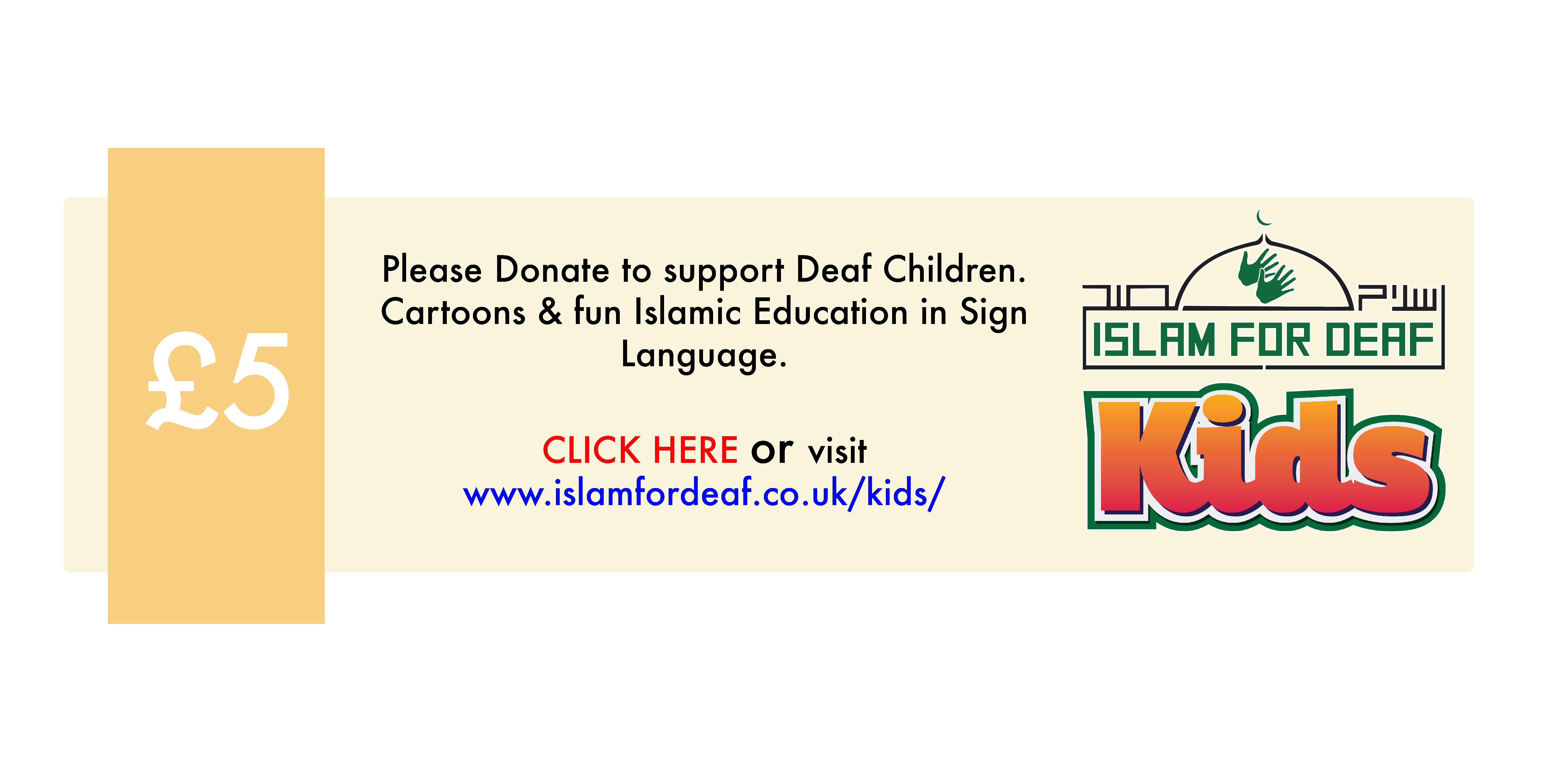 islam for deaf kids